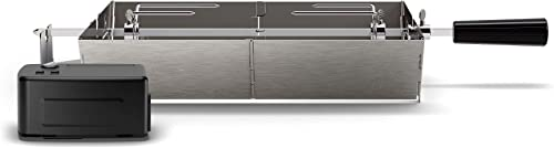 Philips HD6971 00 Smoke-Less Grill Rotisserie Attachment, Stainless Steel