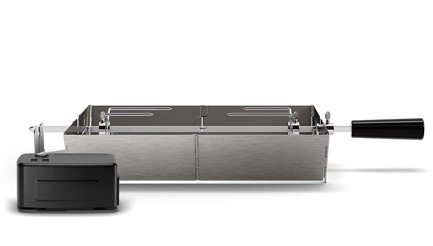 Philips HD6971/00 Smoke-Less Grill Rotisserie Attachment, Stainless Steel