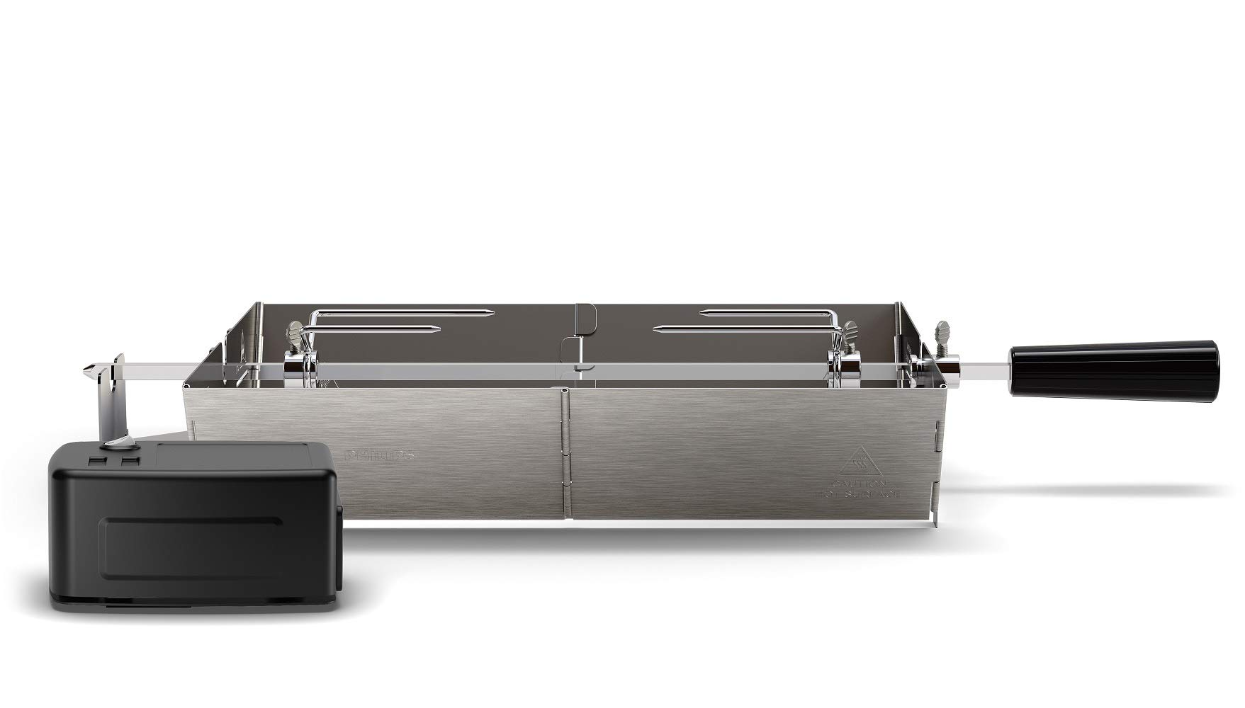 Philips HD6971/00 Smoke-Less Grill Rotisserie Attachment, Stainless Steel by PHILIPS