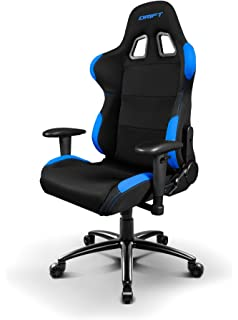 Drift DR100 - Silla Gaming, Black/Blue