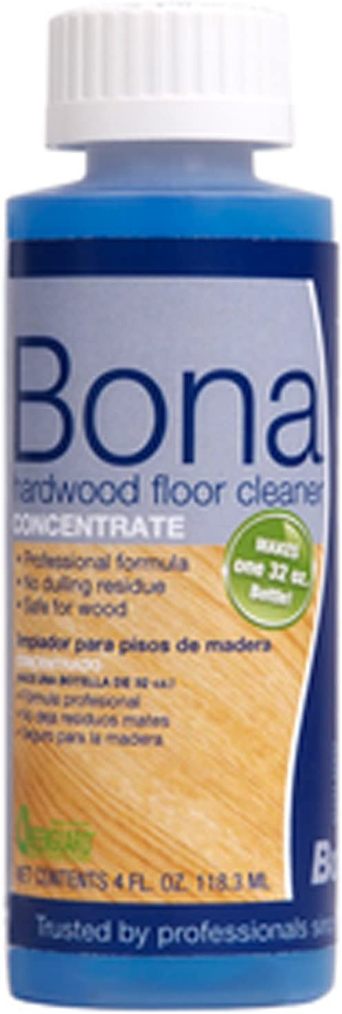 Bona Pro Series Wm700049040 Hardwood Floor Cleaner Concentrate, 4-Ounce