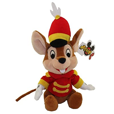 "Disney Timothy Bean Bag Plush Mouse 8"": Toys & Games"
