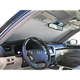 Covercraft UV11330SV Silver UVS 100 Custom Fit Sunscreen for Select Lexus LS460//LS600h Models 1 Pack Laminate Material