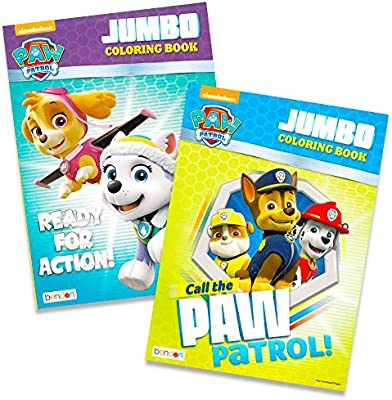 - Amazon.com: Paw Patrol Coloring Books - 2 Pack: Toys & Games