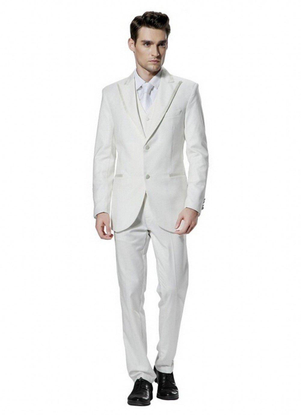 Love Dress Men's Business Celebrity Suit Coat Cultivate One's Morality Beige 1 5XL
