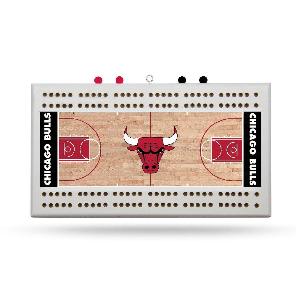 Rico Chicago Bulls NBA Licensed 2 Track Cribbage Board
