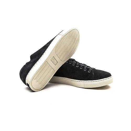 Polo Ralph Lauren - Zapatillas para Hombre Gris Gris: Amazon.es: Zapatos y complementos