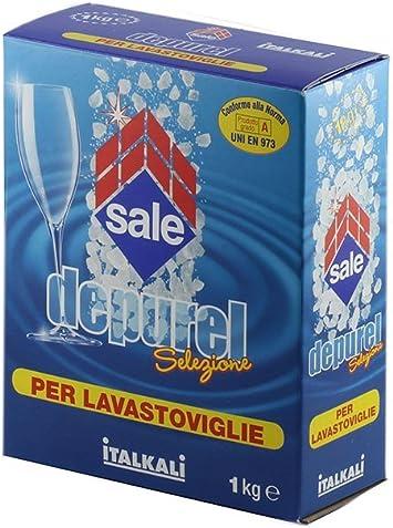 DEPURELSal italiana para lavavajillas, compatible con Bosch, Miele ...