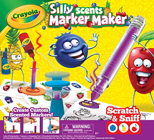 Crayola Silly Scents Marker Maker, Scented Markers, Gift Only $10.99 (Was $19.99)
