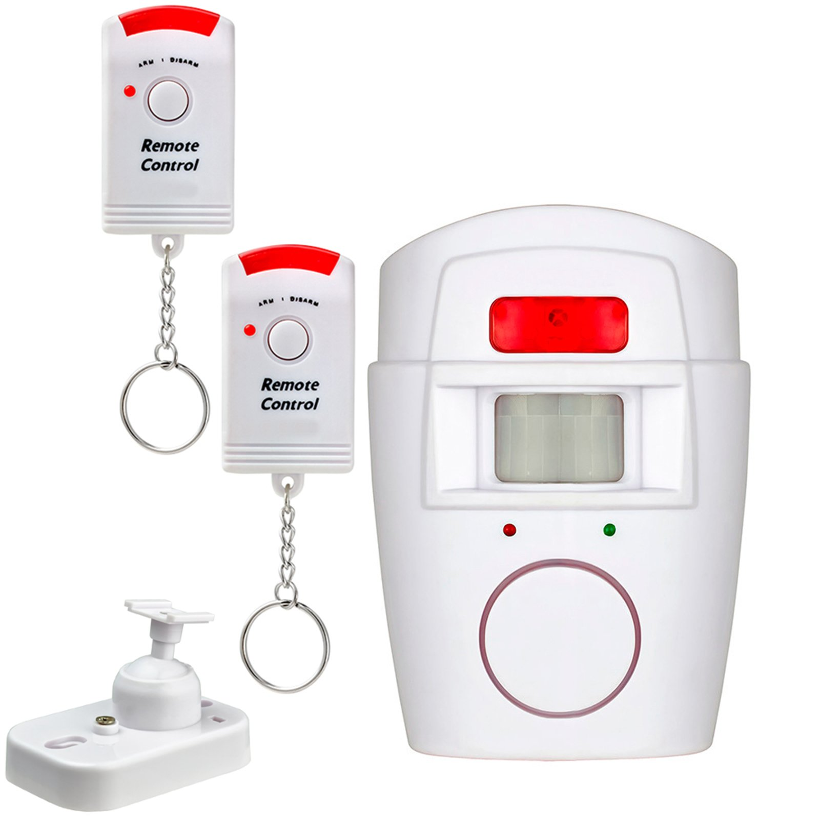 Mbangde Wireless Home Security Driveway MP Alert PIR Motion Sensor Detector Alarm System Kit with 2 Remote Controls 105dB