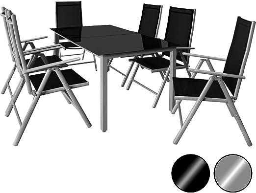 Amazonde Deuba Sitzgruppe Bern 61 Aluminium 7 Fach