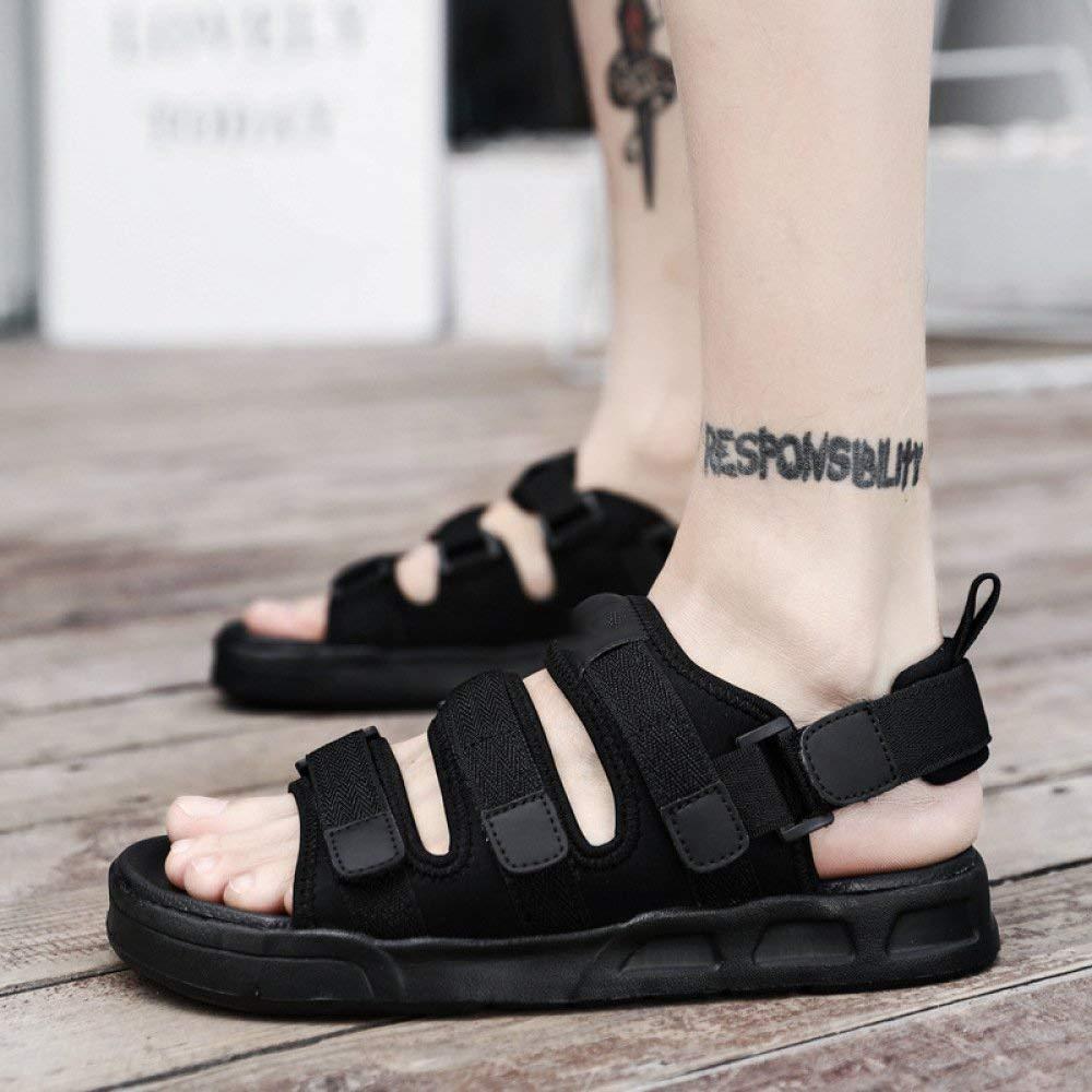 Fuxitoggo Sommer Leder Schuhe Kopf mit hochhackigen Schuhen Schuhen Schuhen mit Einer Schnalle hohlen Damenmode Sandalen weiblich (Farbe   Grau Größe   41) 5b5222