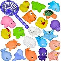 10 Pcs Différents animaux Jouets de bain Jouets de bain de bébé Accessoire de piscine de bains