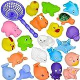10 Pc Différents animaux Jouets de bain Jouets de bain de bébé Accessoire de piscine de bains (10PC)