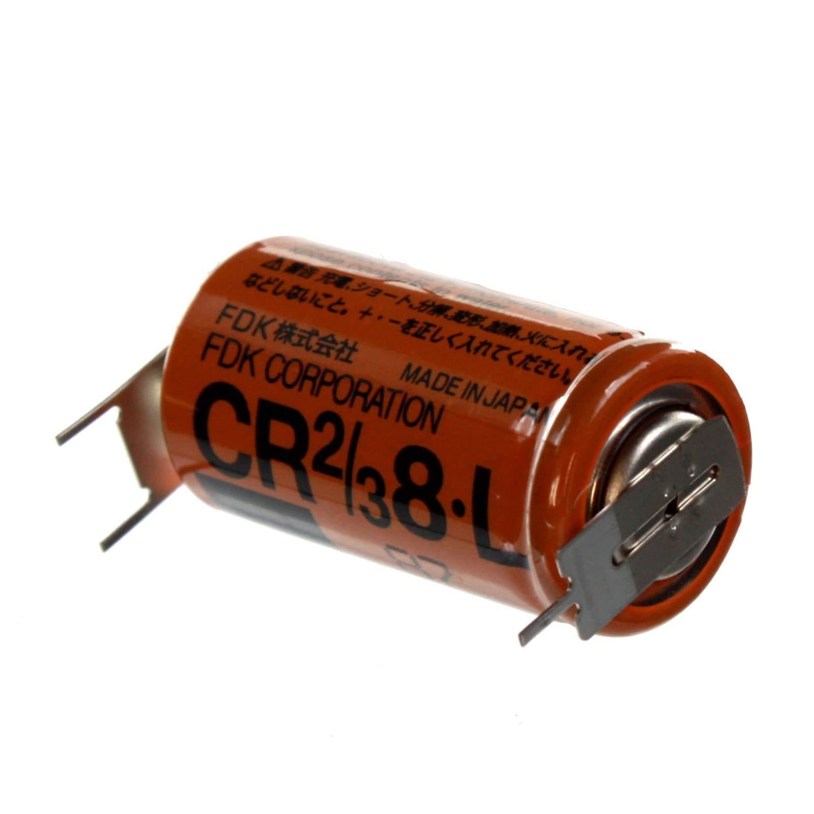 FRESH Fuji 2/3 8L 3V Lithium Batteries ER17/33 equivalent Pin Tabs