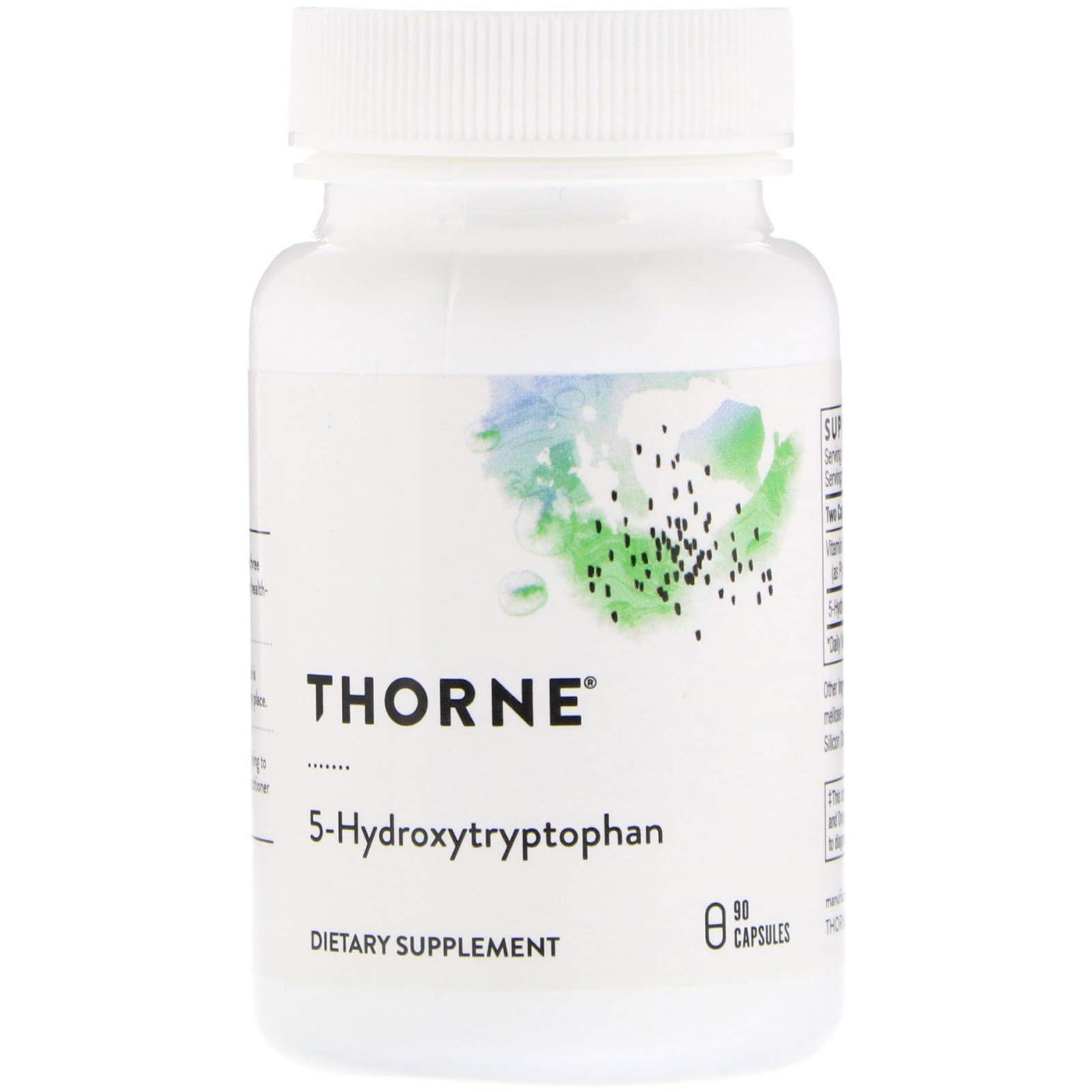Thorne Research - 5-Hydroxytryptophan (5-HTP) - Serotonin Support for Sleep and Stress Management - 90 Capsules