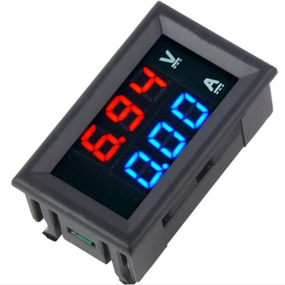 qianqian56 DC 85C1 /ΜA Affichage analogique du courant du panneau Cadran de la jauge de courant pointeur amp/èrem/ètre 100 UA. UN