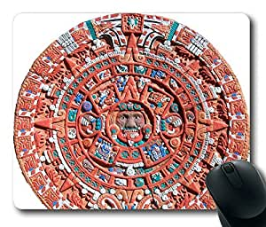 Los Mayas Limited Design Oblong Mouse Pad by Cases & Mousepads by lolosakes