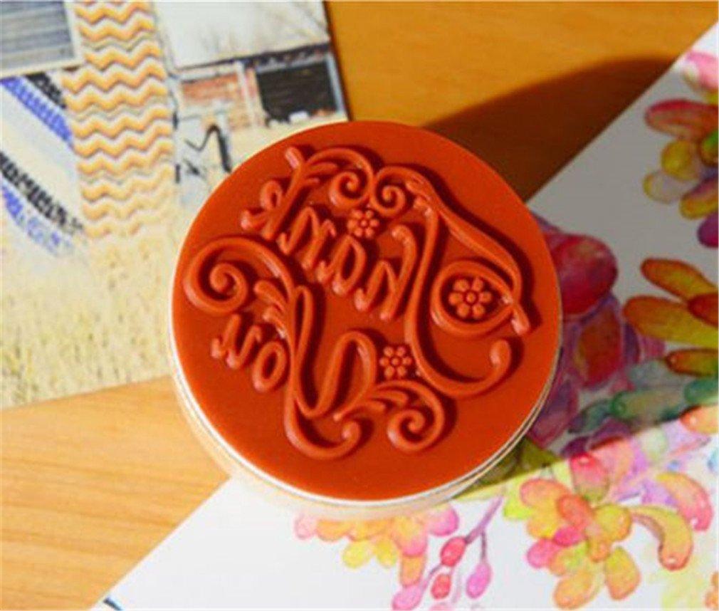 Facilla/® 1 x Stempelkissen Inkpad Stamp Pad Fingerabdruck 4 Farben Nicht TOXISCH kindersicher von TheBigThumb Blau verlaufend