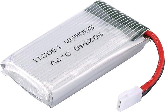 Tree-on-Life 3.7V 800mAh Batería de lipo para Syma X5C FPV RC Drone Repuestos Accesorios Reemplace Las baterías Recargables: Amazon.es: Hogar