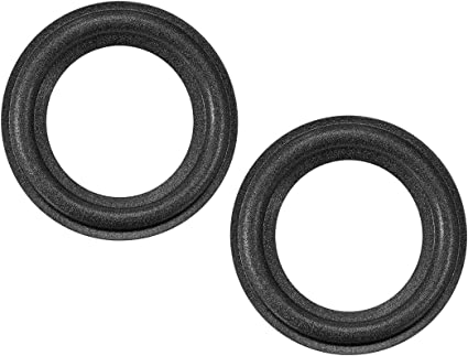 """uxcell 9.9"""" 9.9 Inches Speaker Foam Edge Surround Rings Replacement Parts  for Speaker Repair or DIY 9pcs"""