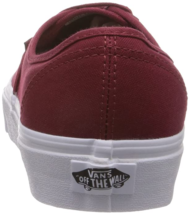 cfd4056d4881b5 Vans Unisex Maroon Authentic Casual Shoes  Buy Online at Low Prices in  India - Amazon.in