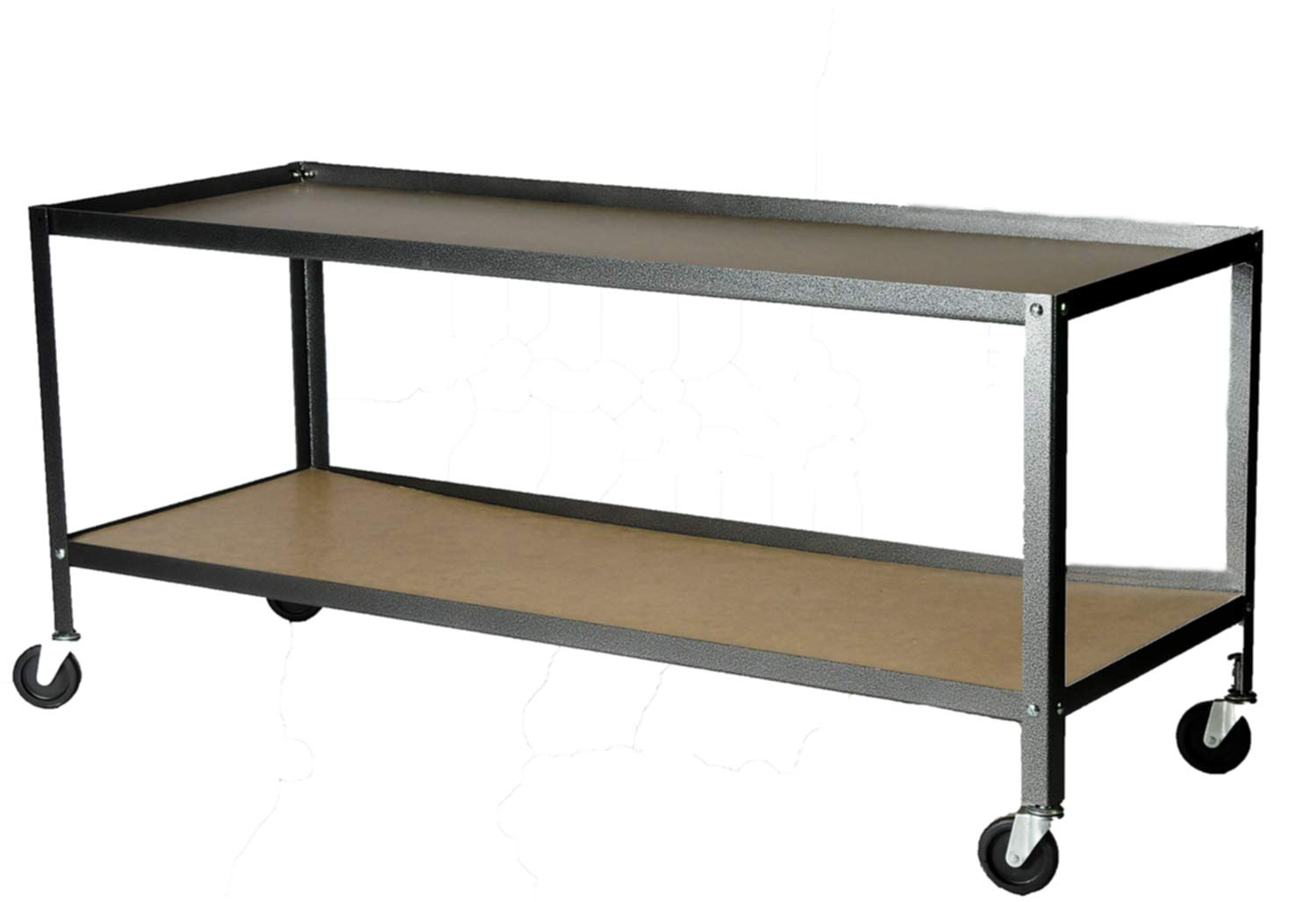 American Educational Plastic Hydro Geology Stream Table with Cart and Accessories, 66'' Length x 26'' Width x 6'' Depth by American Educational Products (Image #2)