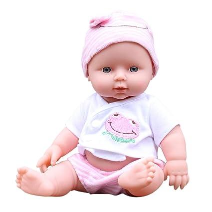 DOGZI Reborn Bebé Recién Nacido Bebé Muñecas Vinly Muñeca Renacida para Niña Juguetes Reborn Baby Dolls,Adecuado para Edades 3+,Viernes Negro Juguetes ...