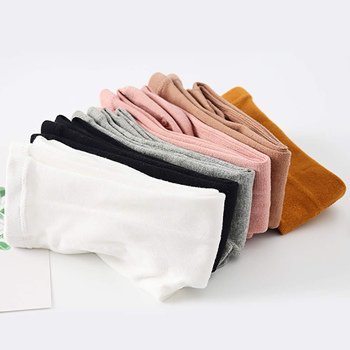 Looching Pack of 4//5 Cotton Cable Knit Tights Legging Stocking Pants Pantyhose for 2-10T Baby Toddler Little Girls