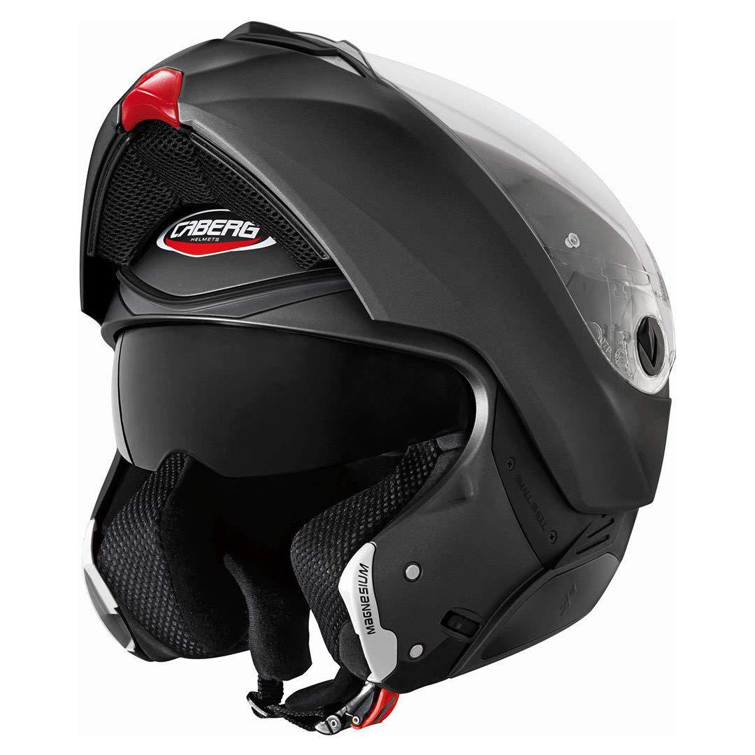 55//56 cm 30870017 Gr/ö/ße S Caberg Klapphelm Modus Matt Schwarz Motorrad Helm