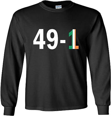The Silo Black McGregor Mayweather 49-1 T-Shirt