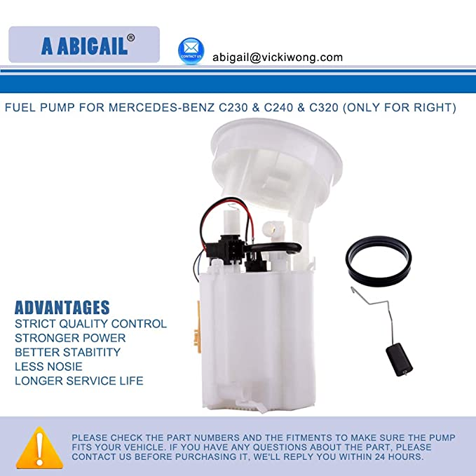 Fuel Pump A67974M (A8475M) for MERCEDES-BENZ C230 & C240 & C320 (ONLY for  Right)