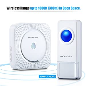 Wireless Range up to 1000ft
