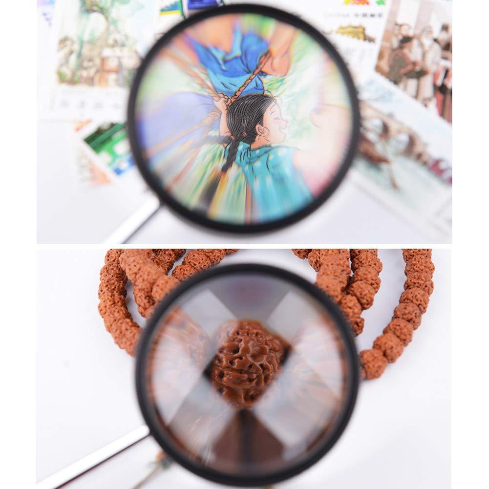 YUXX Portátil Portátil YUXX Lupa De Lectura Extra Grande De Claridad Súper Alta Lupa Lente De Cristal Óptico para Lectura Costura Modelismo Soldar Y Oficina 8e72f1