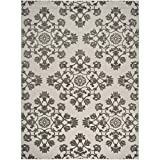Cheap Safavieh Cottage Collection COT910C Cream and Grey Area Rug (8′ x 11'2″)