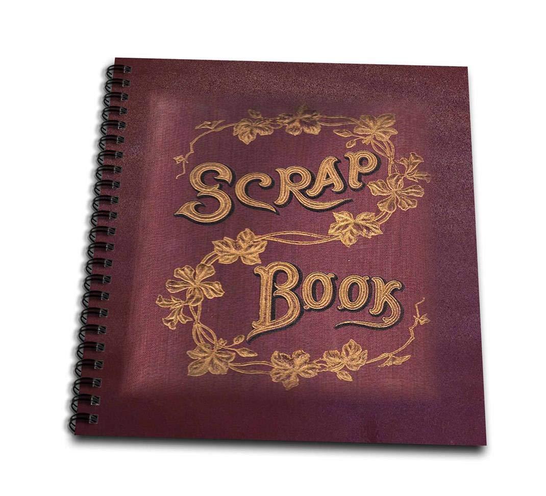 3dRosa DB 43692 _ 1 Merlot Farbe Scrapbook-Drawing Buch, 8 von 20,3 cm B00B9QVYH2    Genial