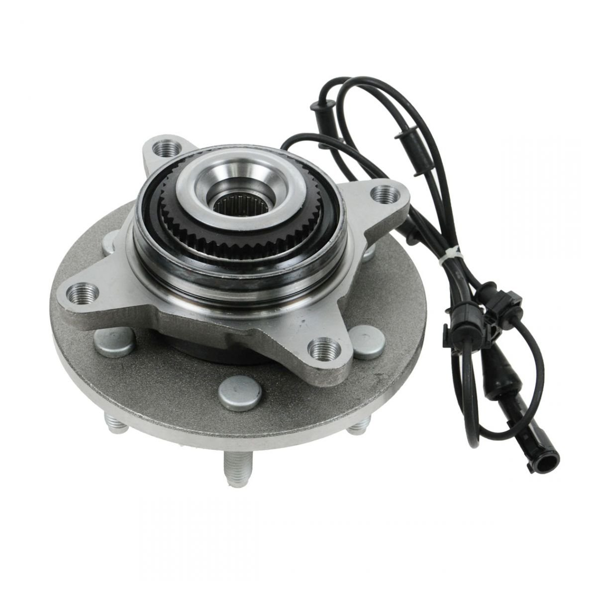 Front Wheel Hub & Bearing for 03-06 Ford Expedition Navigator 4x4 w/ABS by AM Autoparts
