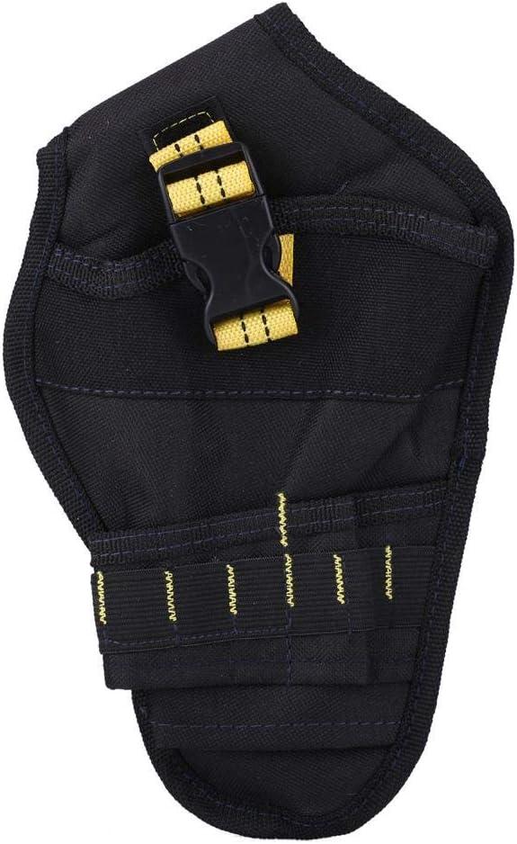 Bolsa Cintur/ón Portaherramientas alforjas sede de perforaci/ón alicates el/éctrica multifuncional neceser en Oxford accesorio tuercas