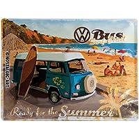 Nostalgic-Art VW Bulli Ready for The Summer Placa