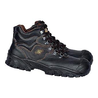 schwarz 40-NT210000-43 Gr/ö/ße 43 Cofra Sicherheitsstiefel S3 SRC New Reno UK Techno Sicherheitshochschuhe Leder