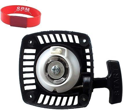 SPM Engine Motor Pull Start Starter for HPI Rovan KM Baja 5B 5T Zenoah 23cc 26cc 29cc 30.5cc 31cc