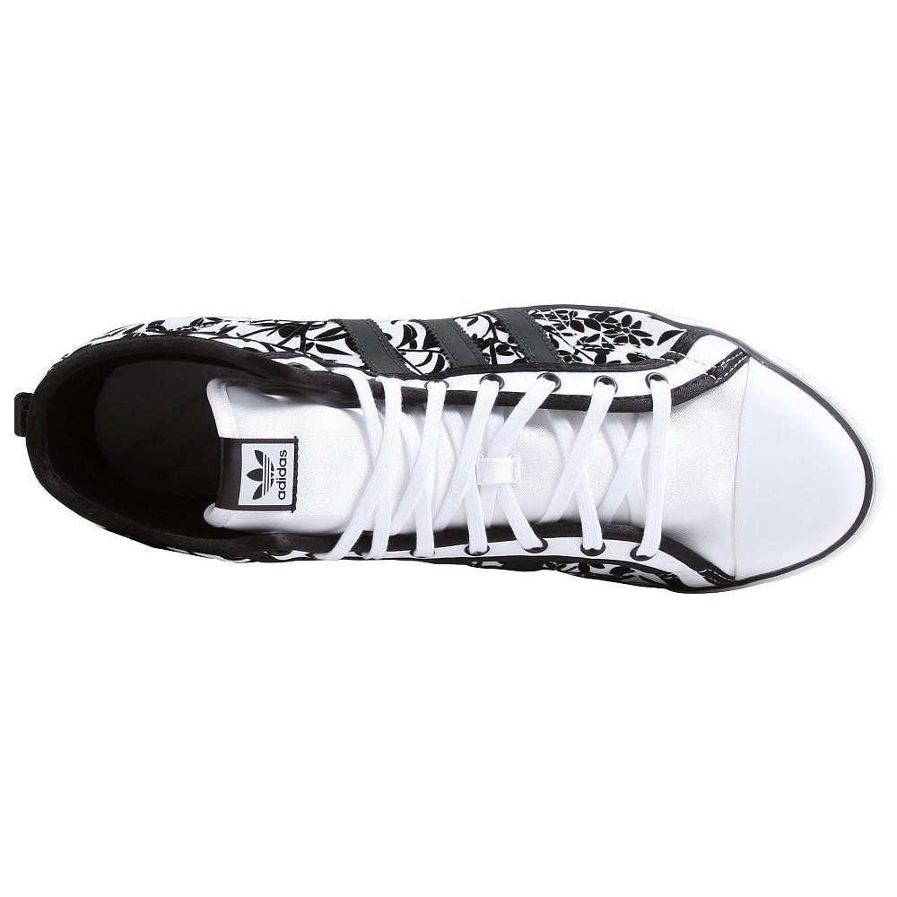 new concept d315c 74382 Amazon.com  adidas Originals Womens Nizza Hi Sleek Shoe  Fashion Sneakers
