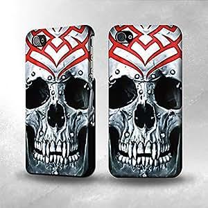 Apple iPhone 4 / 4S Case - The Best 3D Full Wrap iPhone Case - Vampire Skull Tattoo