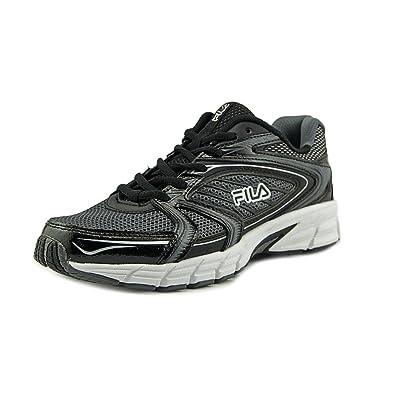 Fila Women's Reckoning 7 Castlerock/Black/Metallic Silver Sneaker 6.5 B ...