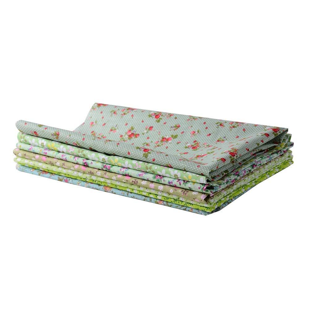 fabric home raylinedo 7pcs 50 50cm different pattern