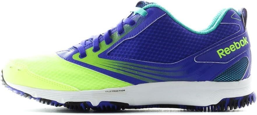 Reebok Women True Traction Trill Purple Yellow 12 Shoes