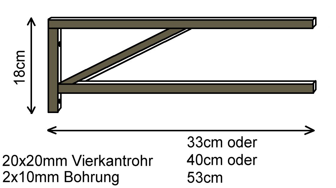 Gr/ö/ßen versch 1 Set Halter f/ür Waschtisch Waschbecken Handtuchhalter Edelstahl