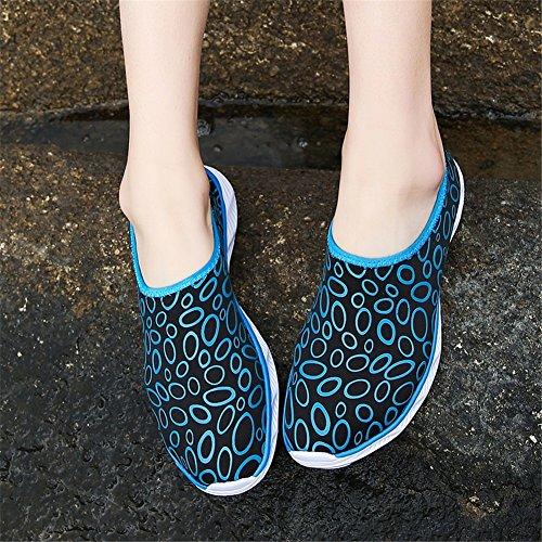 Suola Shoes Upstream Water nudi Beach Dimensione gomma Scarpe Scarpe Yoga Correre Lovers Outdoor Shoes 40 G a Nuoto Color di Nuotare Snorkeling piedi Aqua SHINIK vAqp5n