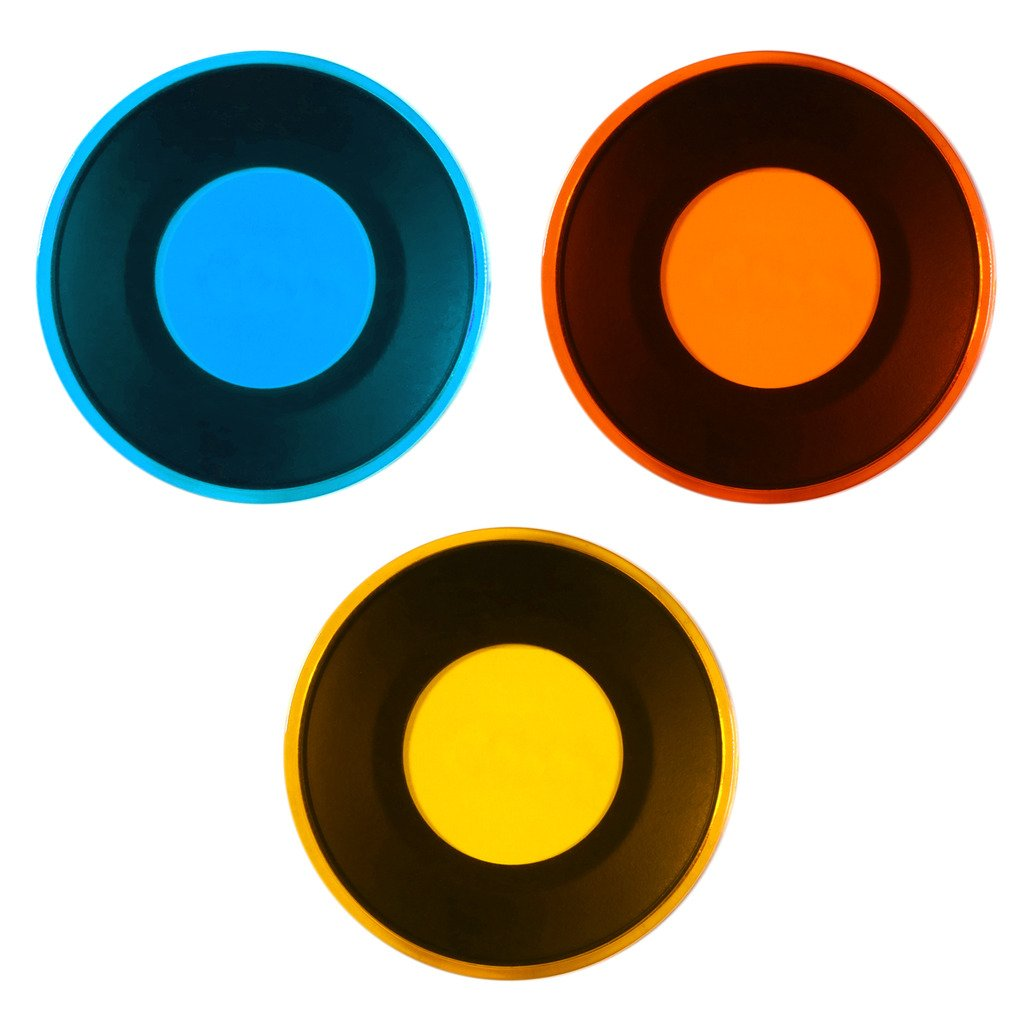 Polaroid Color Filter Set with (3) Unique Magnetic Filters for Polaroid Snap & Snap Touch Instant Digital Cameras – Red, Orange & Blue – Perfect for Professional Work & Creative Play by Polaroid