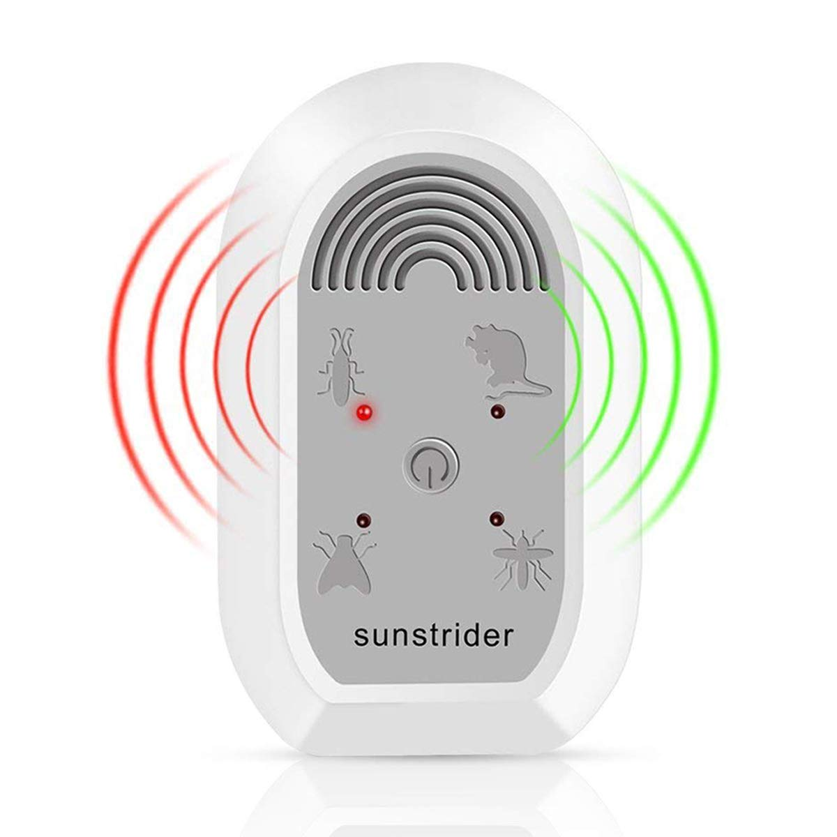 Sunstrider Ultrasonic Pest Repeller Electronic Bug Mosquito Repellent Circuitbest Repellentindoor Plug In Indoor Use Control For Mice Roaches Bedbugs